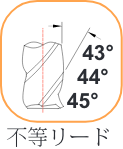 ねじれ3x44x45